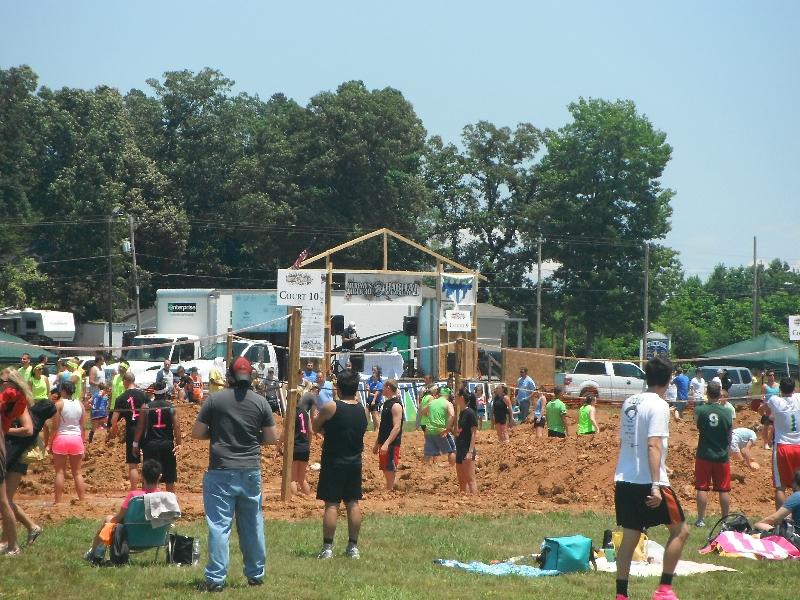 Mud Volleyball 6/12