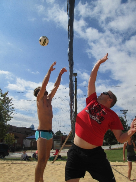 Coed Sand Doubles 9-14-13