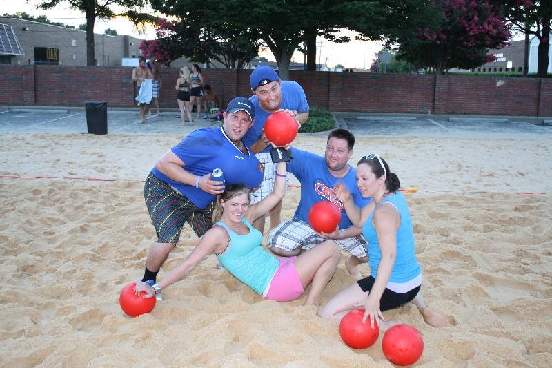 Beach Week Dodgeball Tournament 7-16-13