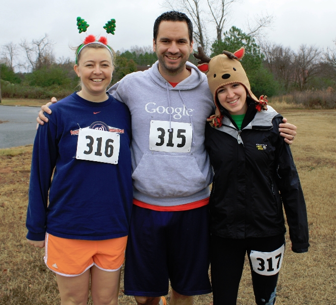 Snow Flake Tree Shake 5K 12/7/13